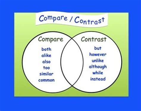 English essays compare contrast